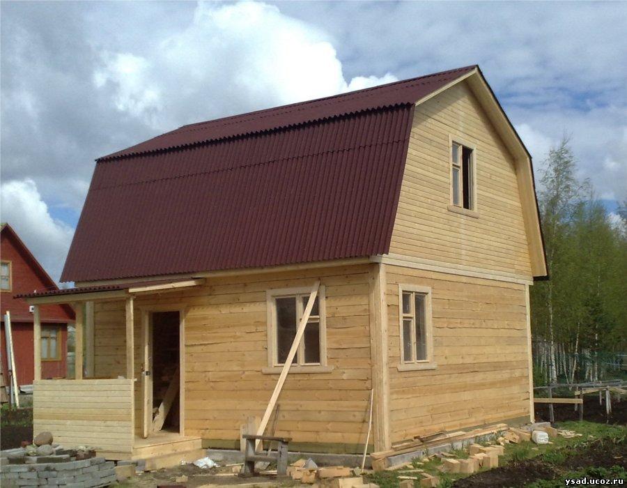 Построить дом 6 на 6 из бруса