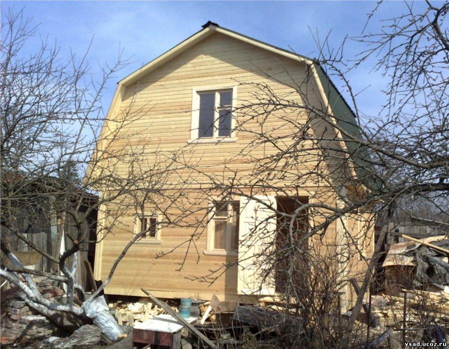 По проекту дома д 2 с ломаной крышей