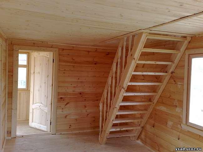 Лестница в доме своими руками видео фото