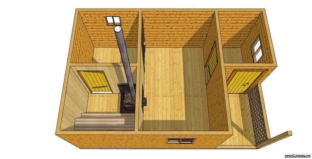 правило, бани небольшие деревянные на 4х человек Официальные частные перевозчики